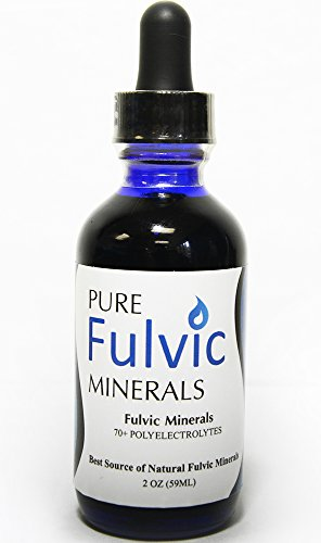 Pure Fulvic Minerals - Fulvic Acid Trace Mineral Concentrate