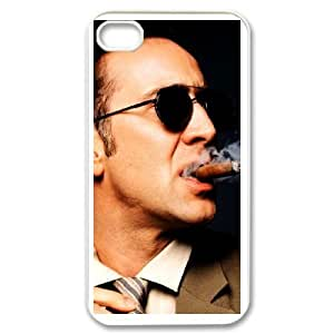 Nicolas Cage iphone 4 4s phone Case Maverick Fantasy Funny Terror Tease Magical YHNL797827888 Kimberly Kurzendoerfer