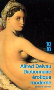 Dictionnaire érotique moderne par Delvau