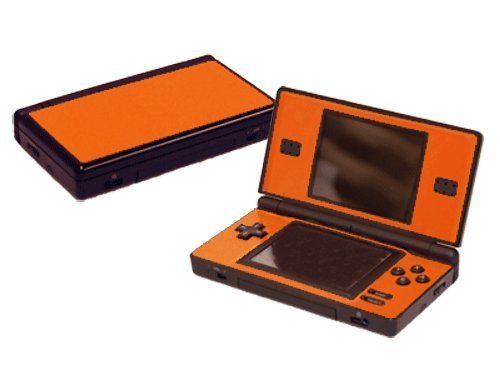 Nintendo Ds Faceplates - Nintendo DS Lite Skin (DSL) - NEW - CITRUS ORANGE system skins faceplate decal mod
