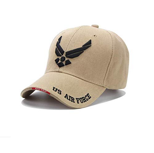 (USAF Tactical Baseball Cap Mountaineer Caps Casual Air Force Cap Men Women Beisebol Snapback USA Army Hat Adjustable)
