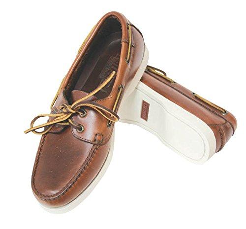 Chaussure Nautico Skipper cuir marron Corne