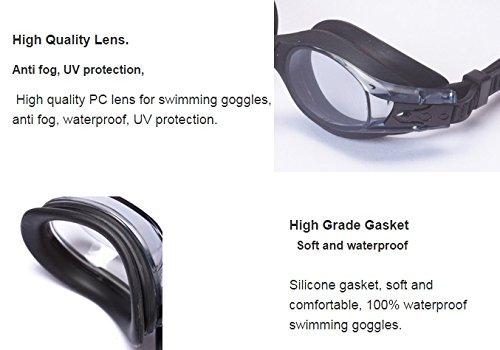 b5c4cef451e Aguaphile Junior Prescription Swimming Goggles for Kids and Early Teens