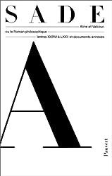 Oeuvres complètes,tome 5 : Aline et Valcour ou Le Roman philosophique, lettres xxxvi à lxxii et documents annexes