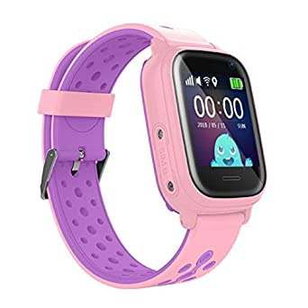 Leotec Reloj Inteligente LESWKIDS01PAMZ: Amazon.es: Relojes