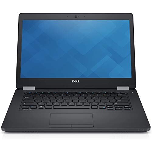 (Renewed) Dell Latitude E5470 14-inch Laptop (Core I5 6th Gen/8GB/256 GB SDD/Windows 10/MS Office Pro 2019/Integrated Graphics), Black