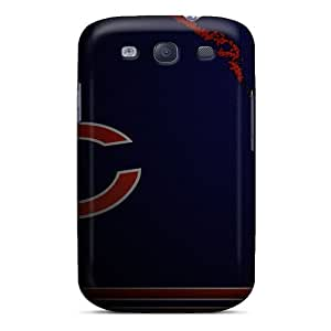 Rgwens Qcz593KzXq Protective Case For Galaxy S3(chicago Bears)