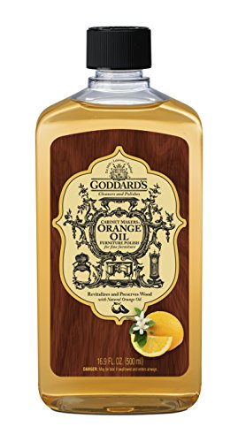 Goddard's Cabinet Makers Orange Oil Furniture Polish – 16.9 oz – Ideal For Woodwork and Furnishings