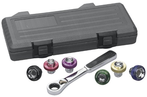 GEARWRENCH 3870D Oil Drain Plug Socket 7 Piece Complete set - Case