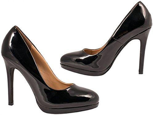 Elara - Plataforma Mujer negro