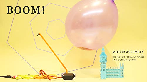 HoneyComb Basic Kit | Over 100 STEM Projects | Programming Coding Logic | Snap magnetic connection | Age 8 and up | Unlimited Fun | No Experience Needed| A Great STEM Toy for Both Boys and Girls! by Elecfreaks (Image #3)