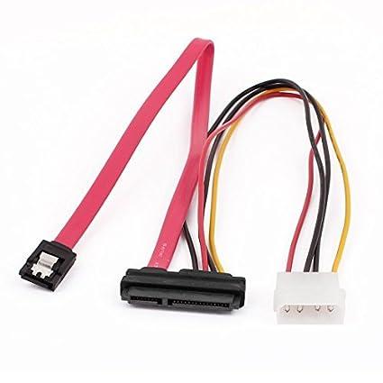 Amazon.com: eDealMax 7 + 15Pin Serial ATA DE 7 pin IDE 4 Pin ...