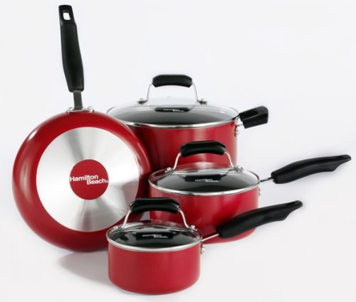 Hamilton Beach 92026 Aluminum Nonstick Elite 7 Piece Set