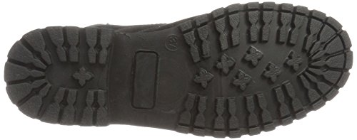 Boot Bianco Black Negro Worker 10 Chukka Botas para Mujer Warm FrE1qr