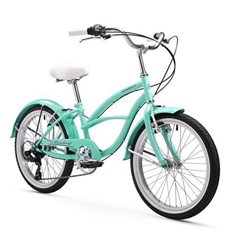 Firmstrong Urban Girl Cruiser Bike, 20 Inches, 7-Speed, Mint Green (Cruiser Bikes 7 Speed)