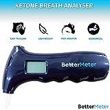 BetterMeter Ketone Meter Ketone Breath Analyzer for