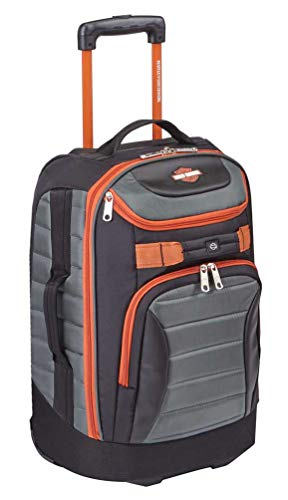 Harley Davidson Quilted Luggage 29
