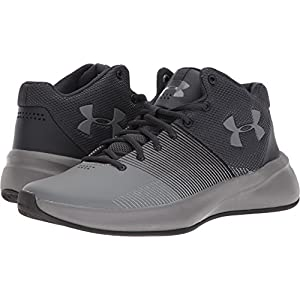 Under Armour Men's UA Surge Black/Zinc Gray/Zinc Gray 11 D US