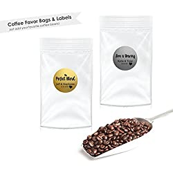Coffee Wedding Favor- Love Is Brewing (30 qty)