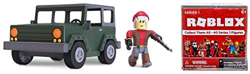 ROBLOX Series 2 Apocalypse Rising 4x4 Vehicle & Action Figure Bundle includes Roblox Series 1 Mystery Box and (Bonus Star Wars Sticker (Star Wars Series 1 Sticker)