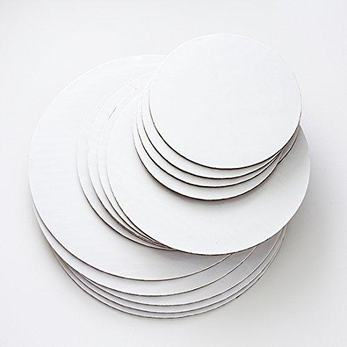 Foam Round Base (Cake Board Circles - 6