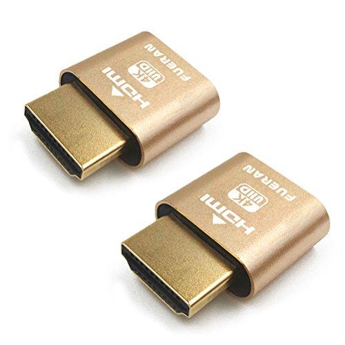 HDMI DDC EDID Dummy 3840 X 2160 @ 60Hz ¡, 2Pack