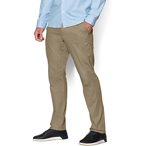 Under Armour Men's Performance Chino – Tapered Leg, Canvas/Canvas, 34/30