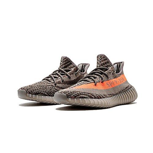Sneakers In Mesh Traspiranti Leggere Da Uomo 350 V2 Scarpe Da Corsa Beluga Zebra Grigio