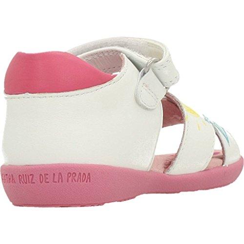 Agatha Ruiz De La Prada Sandalen/Sandaletten Mädchen, Farbe Weiß, Marke, Modell Sandalen/Sandaletten Mädchen 182902 Weiß Weiß
