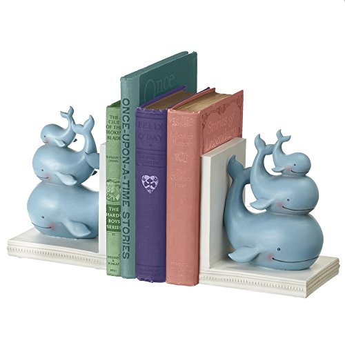 Midwest-CBK Stacked Whale Bookend Pair