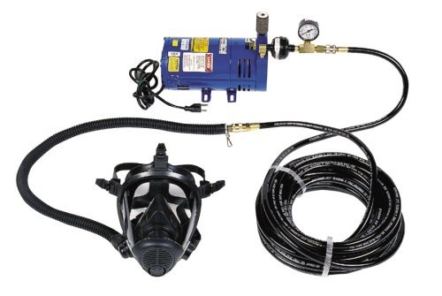Price comparison product image Survival Air Systems 3800-30 Economy 1-Man Full Face Mask System