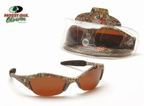 Mossy Oak Obsession Polarized Camo Hunting Sunglasses - Sunglasses Aes