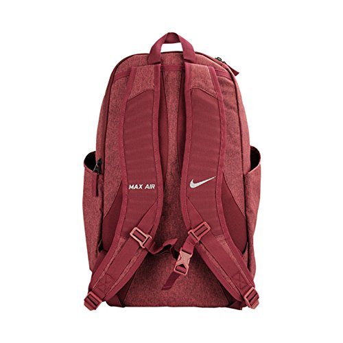 41e70db1de Nike 25 Ltrs University Red Black Metallic Silver Laptop Backpack  (BA5477-620)  Amazon.in  Bags