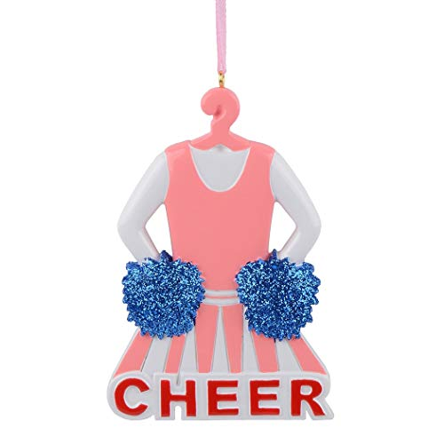 MAXORA Personalzied Christmas Ornament for Sports Fans (Customize IT Yourself, Cheerleader) (Cheerleader Christmas)