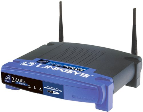 802.11g Outdoor Access Point - Cisco-Linksys WAP11 Wireless-B Network Access Point