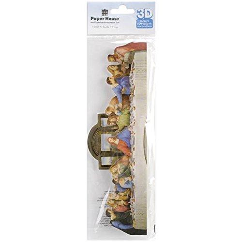 Paper House Productions STTL-015E 3D Title Sticker, Last Supper