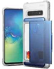 Galaxy S10 Plus Case VRS Design Slim Hybrid Premium Wallet Case Card Slot Holder Shockproof [Damda Glide Shield] Heavy Duty for Samsung Galaxy S10 Plus 6.4 inch (2019)