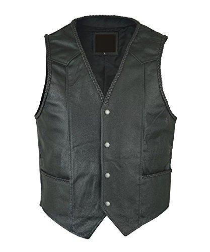 Gilet Homme Noir Star Leather Leather Leather Star Homme Homme Gilet Gilet Star Noir Noir 7pAPZqqW