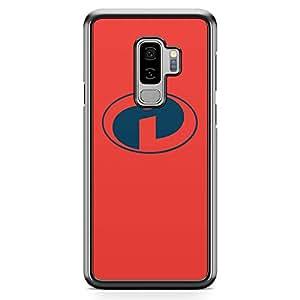 Loud Universe Minimal Logo Cartoon Samsung S9 Plus Case Minimalist Samsung S9 Plus Cover with Transparent Edges