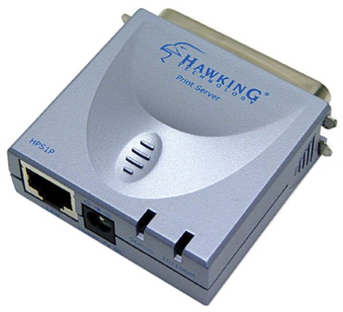Hawking Technology 10/100M Parallel Print Server (HPS1P) by Hawking Technology