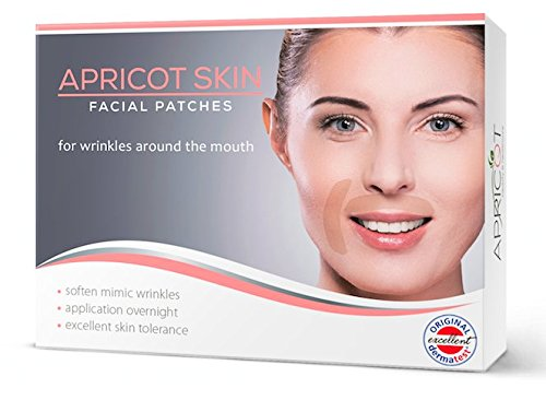 BESTSELLER in Germany! Apricot Skin facial patches (MOUTH) made of natural cotton to prevent and smooth wrinkles!