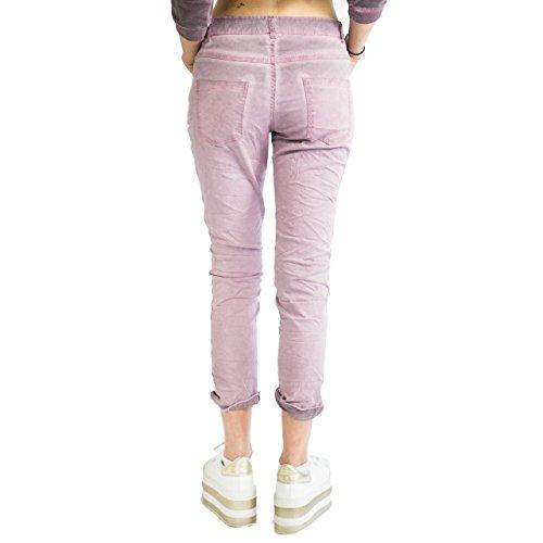 Lilla Graffiti Groove37 Effetto Jeans Pantalone Donna 86fq674C