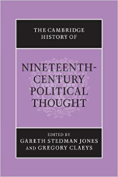 The Cambridge History Of Nineteenth-century Political Thought por Gareth Stedman Jones