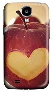 Samsung Galaxy S4 I9500 Cases & Covers - Heart Apple Custom PC Soft Case Cover Protector for Samsung Galaxy S4 I9500