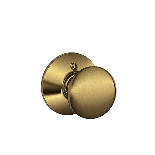 Schlage Lock Company F170 PLY 609 Schlage 134 N Nsl Plymouth Dummy Antique Brass Antique Brass Plymouth
