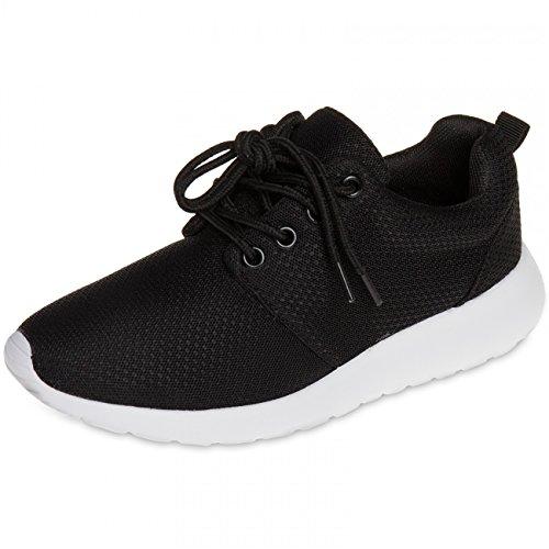 CASPAR SSN003 Sneakers SSN003 CASPAR Women Black rqwrp06H