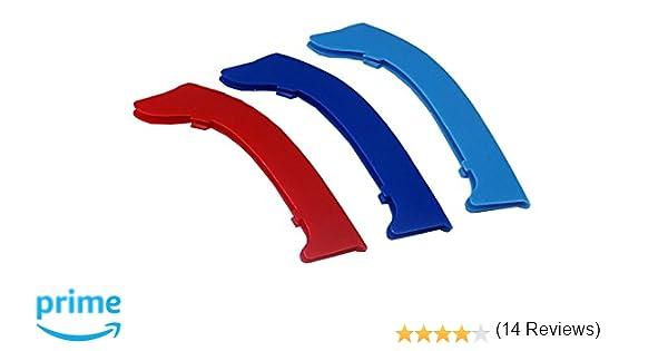 3D Coche Rejillas Frontales para 2009-2012 E90 E91 ABS 3 ...