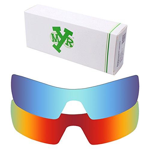 Mryok 2 Pair Polarized Replacement Lenses for Oakley Oil Rig Sunglass - - Rig Oil Lenses Polarized