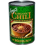 Amy's, Organic Chili, Medium, 14.7 oz (416 g)(Pack of 3)