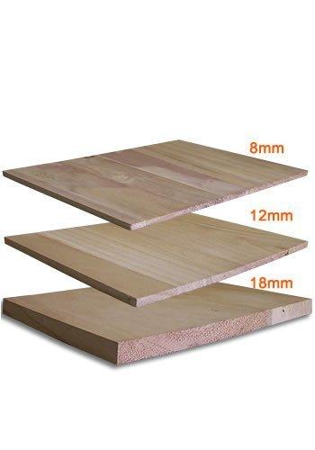 Tiger Claw Breaking Wood Board - 8 mm, 12 mm, 18 mm (8mm)